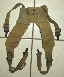 Rhodesia Army Webbing Padded Yoke Harness