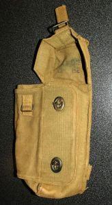 Rhodesia Army Webbing Radio Pouch