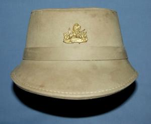 RHODESIA  BSAP Shako Helmet + Badge 1