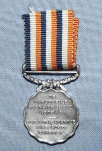 SADF PERMANENT FORCE LONG SERVICE & GOOD CONDUCT MINIATURE MEDAL 2
