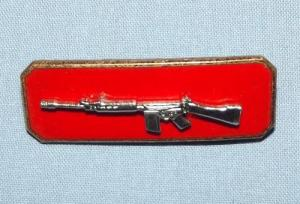 SOUTH AFRICAN SADF ARMY SHARPSHOOTER SKIETBALKIE BREAST BADGE