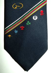 1889 - 1989 South African Springbok Rugby 100 Year Centenary Tie