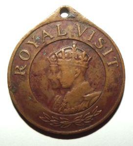 1947 Royal Visit to Southern Rhodesia Medal 1