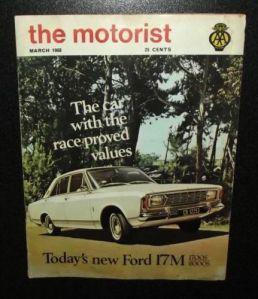 1968 South African AA Automobile Association Motorist Magazine