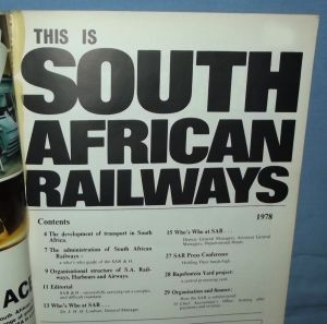 1978 South African Railways Handbook 1