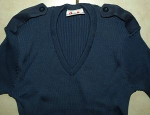 1988 South African Police Blue Pullover Jersey