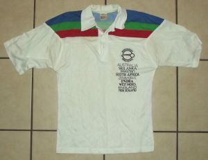 1992 World Cup All Countries Cricket Jersey