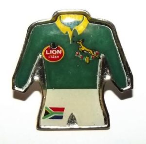 1995 South Africa Springbok Rugby Lapel Pin Badge
