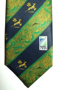 1999 Rugby World Cup South Africa Springbok Supporter Tie