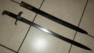 British Pattern 1855 Lancaster Carbine Bayonet 1