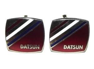 DATSUN Nissan Advertising Metal Cufflinks