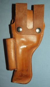 El Paso Leather Brown BER 91 Holster 1