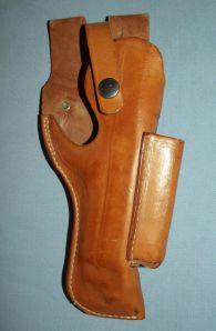 El Paso Leather Brown BER 91 Holster