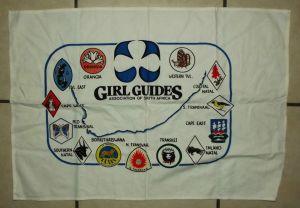 Girl Guides Association of South Africa Banner Flag