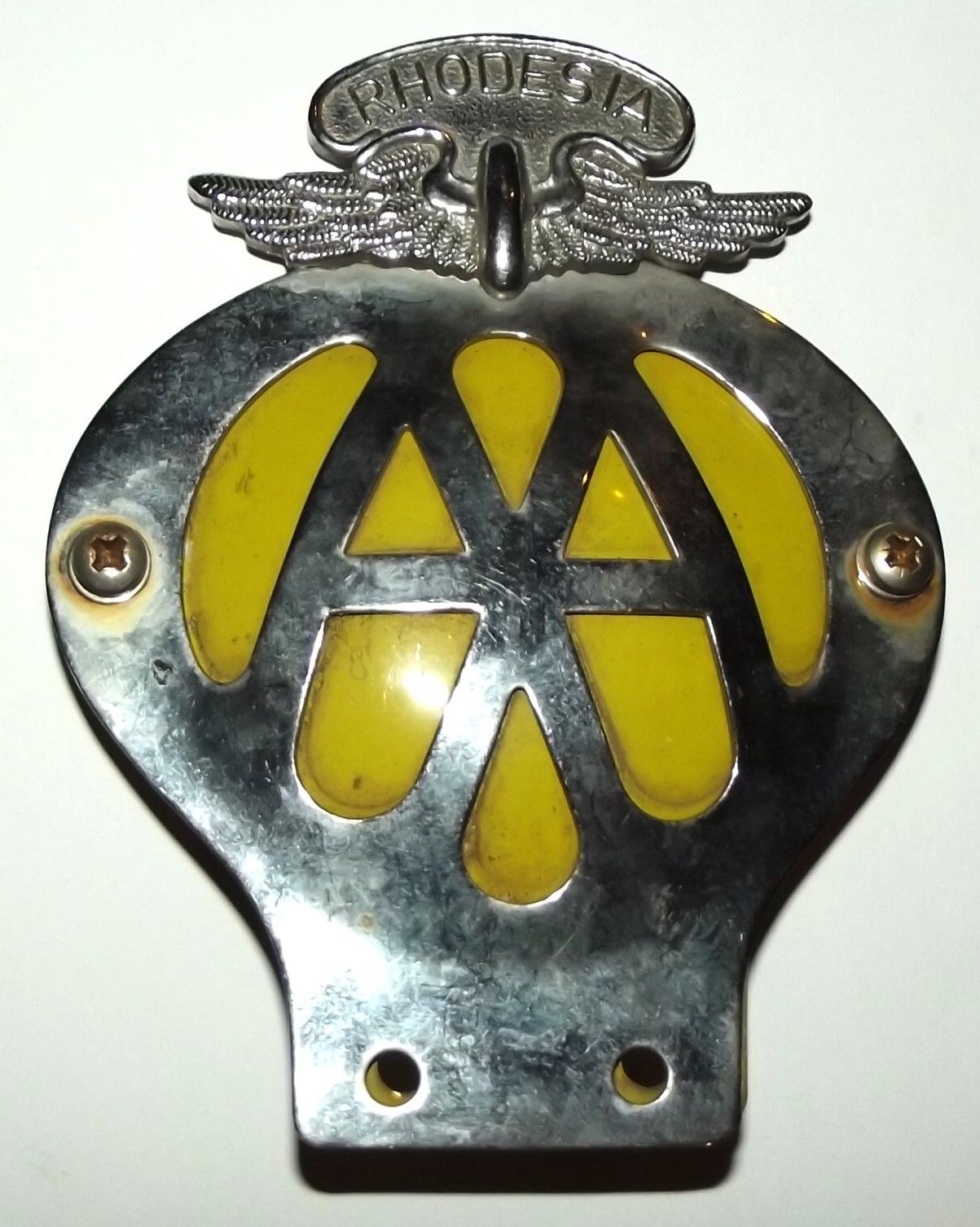 how to make metal car badges