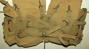 Rhodesia Army Webbing Kidney Pouch Pack 3