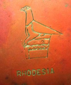 Rhodesia Copper Ashtray 1