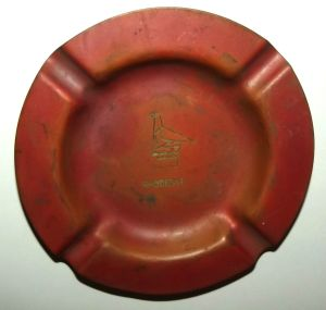 Rhodesia Copper Ashtray