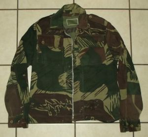 Rhodesia Fire Force Camo Field Jacket