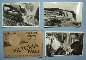 Rhodesia Railways Twelve Views of the Victoria Falls Postcard Set