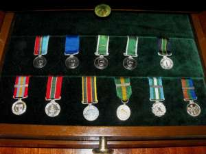 Set of 45 Rhodesian Honours and Awards miniature medals 3