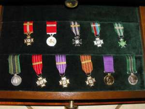 Set of 45 Rhodesian Honours and Awards miniature medals 4