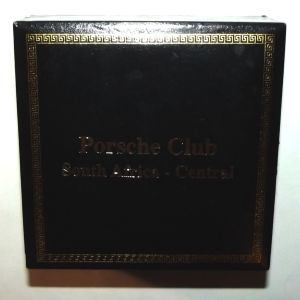 South Africa Central PORSCHE Club Medal + Original Case 2
