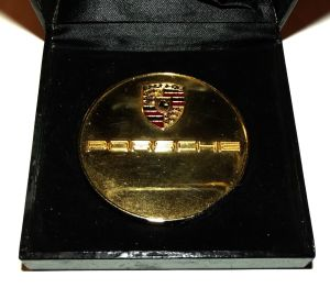South Africa Central PORSCHE Club Medal + Original Case