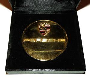 South Africa Central PORSCHE Club Medal + Original Case