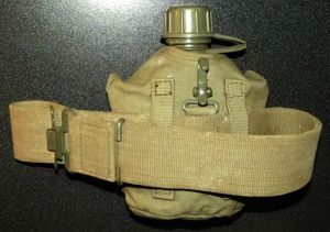 South Africa SADF Bush War Army Web Belt + Water Bottle 2