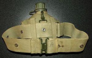 South Africa SADF Bush War Army Web Belt + Water Bottle 2