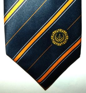 South Africa SADF Bush War Pro Patria Contribution Bilingual Tie