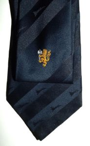 South African Air Force Mirage Aircraft 89 Combat Flying School Insignia Tie