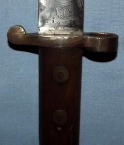 South African Anglo Boer War Lee Metford MKI Bayonet 2