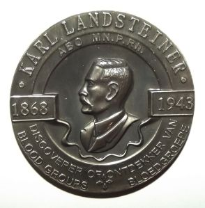 South African National Blood Service 150th Donation Bilingual Medal