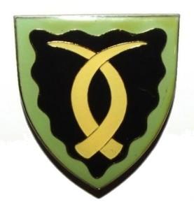 South West Africa Sector 70 Metal Shoulder Flash Badge
