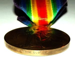 WW1 South African Bilingual Victory Medal 2