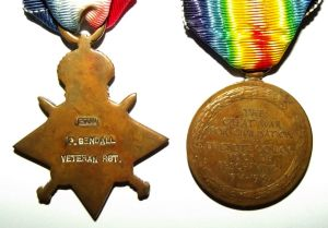 WW1 South African Bilingual Victory Medal Pair 1