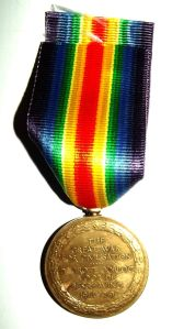 WW1 South African Bilingual Victory Medal
