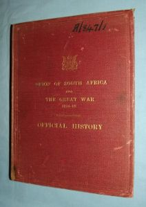 WW1 Union Of South Africa & The Great War 1914-1918 Official History 1