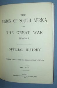 WW1 Union Of South Africa & The Great War 1914-1918 Official History 2