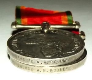 WW2 South African War + Africa Service Full Size Medal Pair 1
