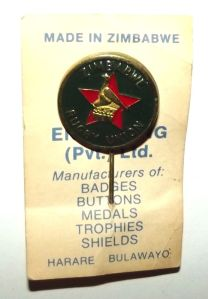 Zimbabwe Rugby Union Metal Lapel Pin Badge