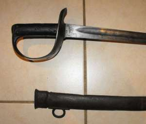 BOER WAR BRITISH PATTERN 1890 CAVALRY SWORD 1