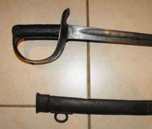 BOER WAR BRITISH PATTERN 1890 CAVALRY SWORD 1