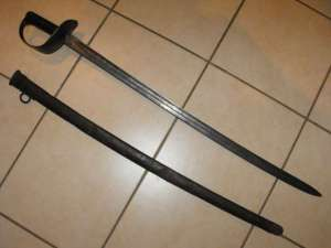 BOER WAR BRITISH PATTERN 1890 CAVALRY SWORD