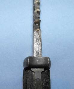 GERMAN KURZES SEITENGEWEHR M98 MAUSER DOUBLE TOOTH SAW BACK BAYONET 2