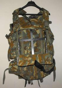 South African Defence Force SADF 32 Battalion Camo Rucksack and Frame 1