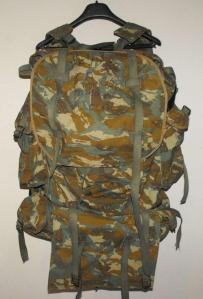 South African Defence Force SADF 32 Battalion Camo Rucksack and Frame