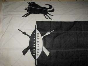 South African Defence Force SADF Group 10 HQ Natal Command Flag